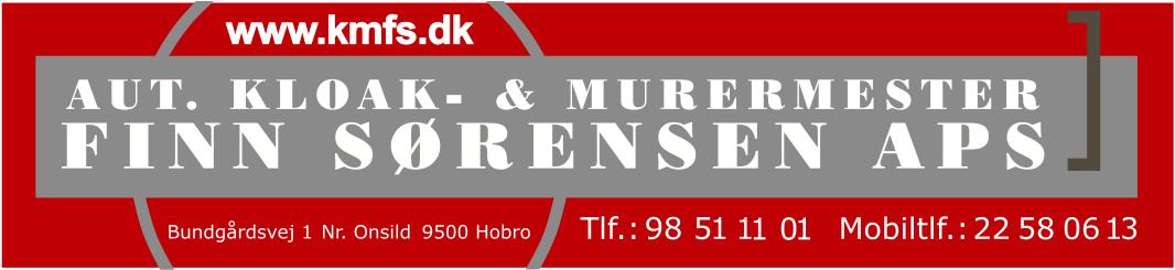 Aut kloak- og murermester Finn Sørensen